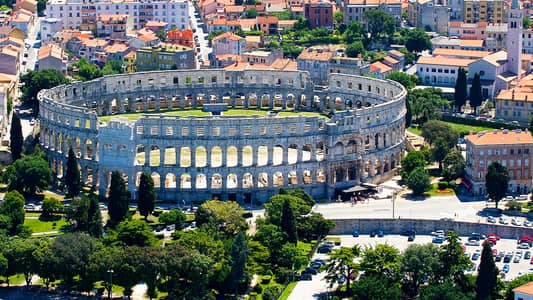 Pula – seafort city